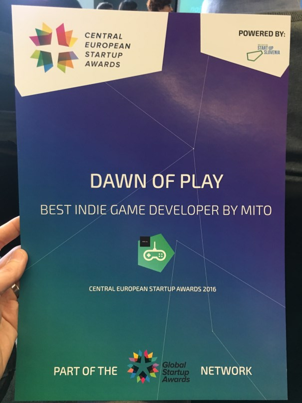 CESA 2016 - Best Indie Game Developer
